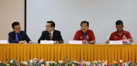 ประชุมกำหนดการตรวจความพร้อมสถานที่การจัดแข่งขันกีฬาบุคลากรสำนักงานคณะกรรมการการอุดมศึกษา ครั้งที่ 38